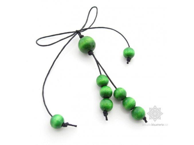 Přívěšky zelené
