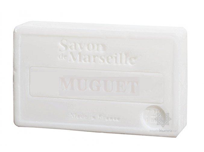 Marseillské mýdlo Le Chatelard 1802  Konvalinka