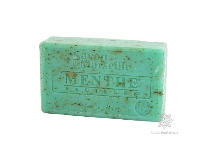 Marseillské mýdlo Le Chatelard 1802  Máta