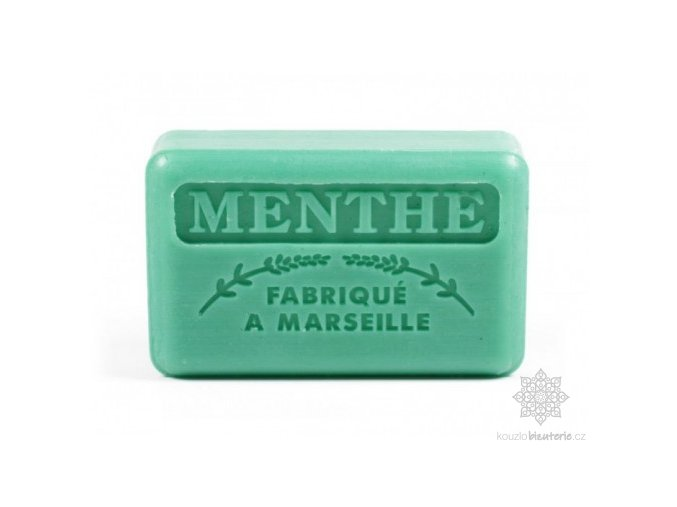 Marseillské mýdlo Foufour Máta
