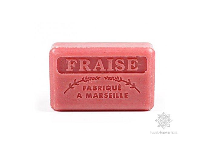 Marseillské mýdlo Foufour Jahoda