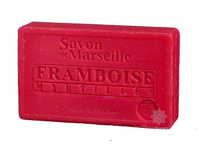 Marseillské mýdlo Le Chatelard 1802 Malina & borůvka