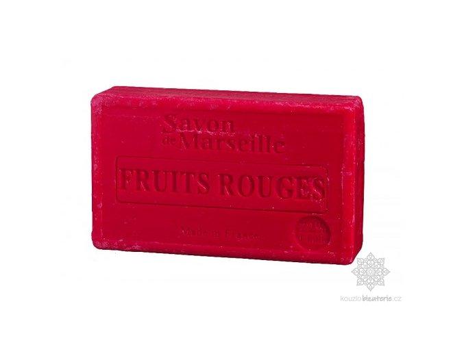 Marseillské mýdlo Le Chatelard 1802 Červené ovoce