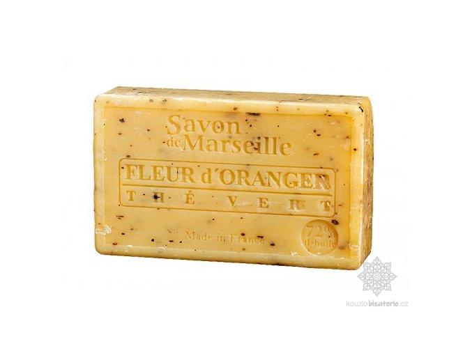 Marseillské mýdlo Le Chatelard 1802 Pomerančový květ & zelený čaj