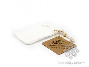 Přírodní pytlík na mýdlo bambusový