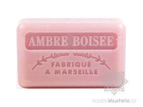Marseillské mýdlo Foufour Ambre boisee