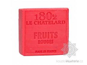 savon carre 100 g fruits rouges sans palme