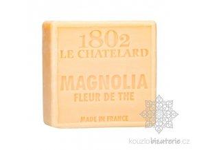 savon carre 100 g magnolia fleur de the sans palme
