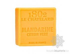 savon carre 100 g mandarine citron vert sans palme