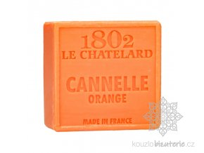 savon carre 100 g cannelle orange sans palme