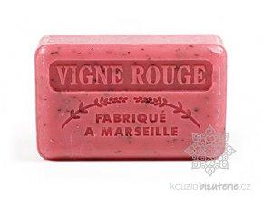 Marseillské mýdlo Foufour Červené hrozny