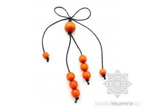 Oranžové přívěšky
