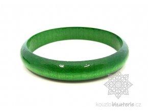 dřevěný náramek zelený