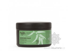Přírodní syrské mýdlo Najel Savon noir (černé mýdlo)