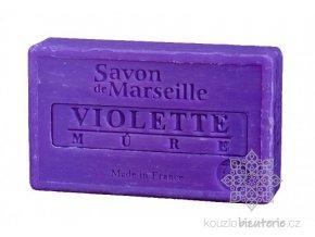 Marseillské mýdlo Le Chatelard 1802 Fialka & ostružina