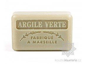Marseillské mýdlo Foufour obohacené zeleným jílem