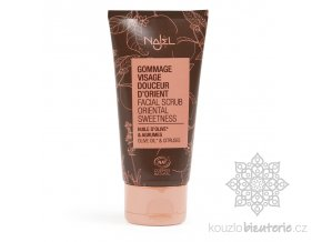 facial scrub oriental sweetness cosmos natural certified 27 floz