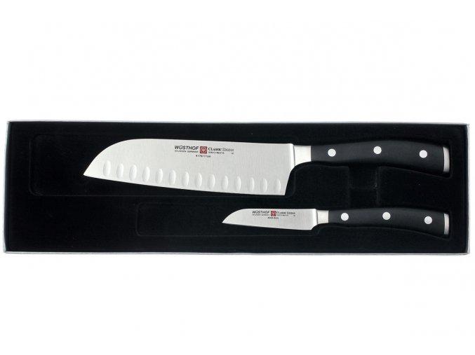 Sada kuchařských nožů Wüsthof CLASSIC IKON 2 díly