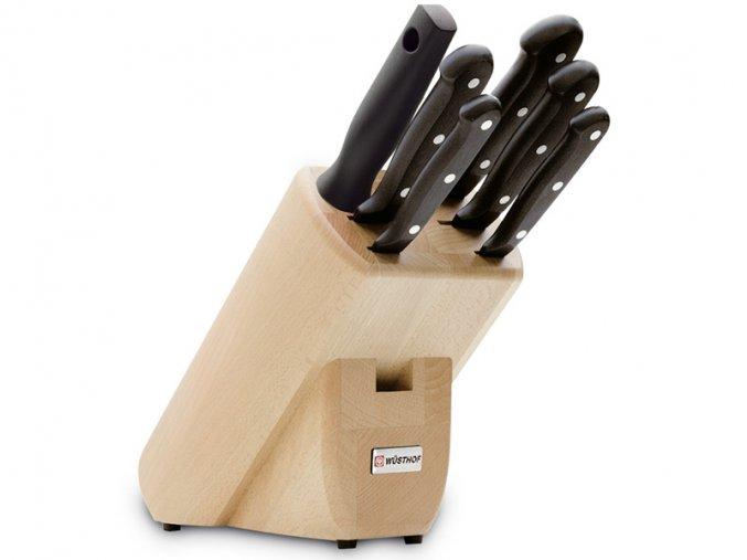 Blok s noži Wüsthof GOURMET 6 dílů, Světlý