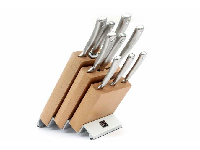 Blok s noži Wüsthof Culinar 9 dílů, Světlý