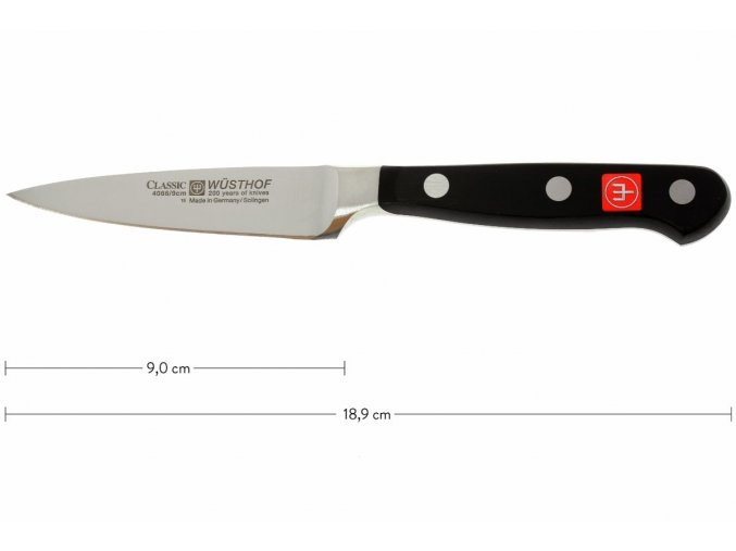Nůž na zeleninu 9 cm, Wüsthof Classic