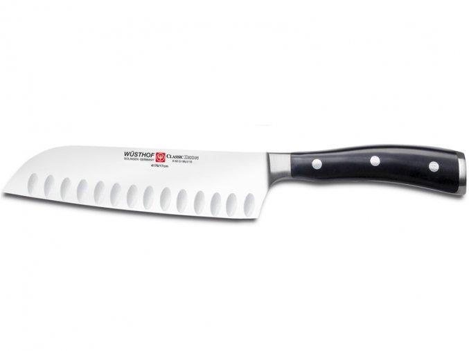 Nůž japonský 17 cm výbrus, Wüsthof Classic Ikon