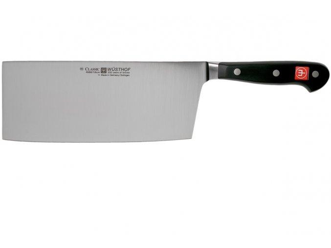 Čínský kuchařský nůž Solingen Wüsthof Classic, 18 cm