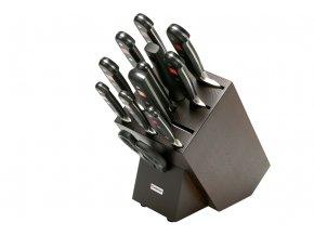 Blok s noži Wüsthof CLASSIC 12 dílů, hnědý