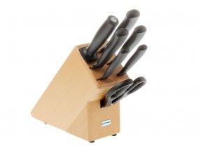 Blok s noži Wüsthof SILVERPOINT 7 dílů, Světlý