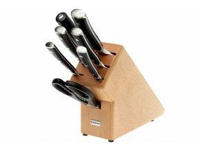 Wüsthof Classic Ikon blok na nože světlý, 7 dílů