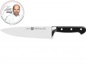 """Zwilling Professional """"S"""" - Kuchařský nůž 23 cm Pohlreich Selection"""