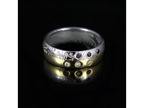 Originalni Kovane Prsteny Damasteel