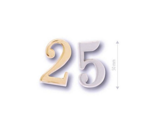 cobra číslice 5 cm