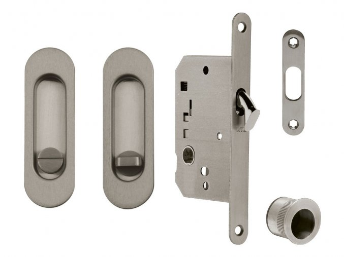 Set na posuvné dveře ATZ WC (oválný)