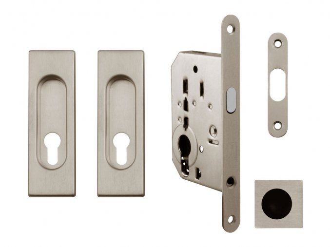 Set na posuvné dveře MP PZ/D NP (hranatý)