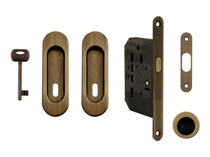 Set na posuvné dveře MP BB/D OGS (oválný)