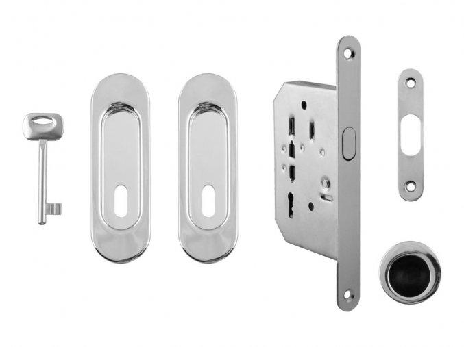 Set na posuvné dveře MP BB/D OC (oválný)