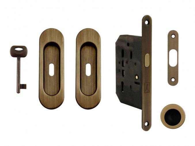 Set na posuvné dveře MP BB/S OGS (oválný)