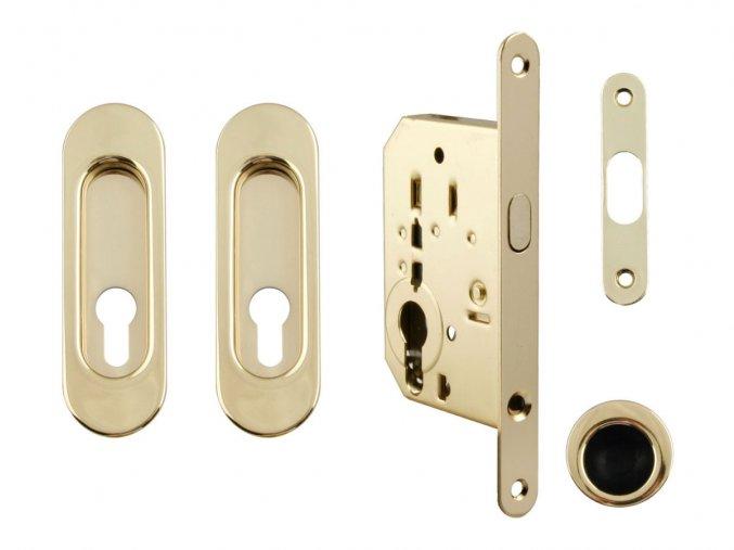 Set na posuvné dveře MP PZ/D OLV (oválný)