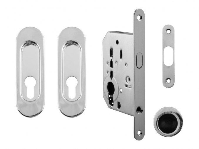 Set na posuvné dveře MP PZ/D OC (oválný)