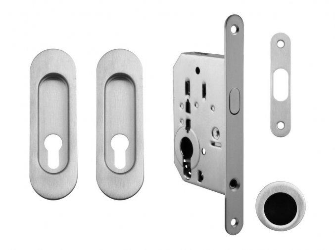 Set na posuvné dveře MP PZ/D OCS (oválný)