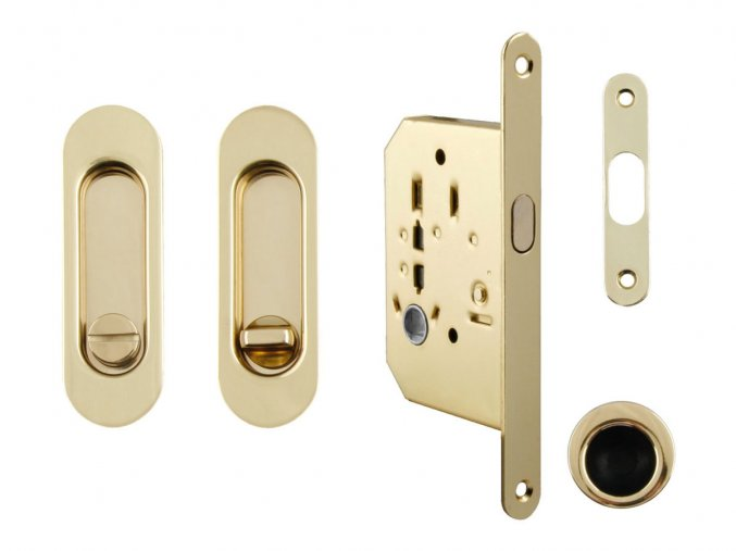 Set na posuvné dveře MP WC OLV (oválný)