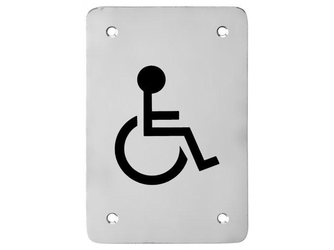 Piktogram ACT Tělesně postižení HR (nerez)