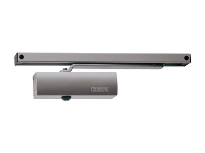 Zavírač dveří s kluznou lištou GEZE TS 1500 G (stříbrný)