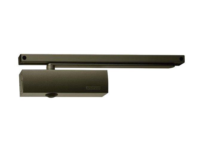 Zavírač dveří s kluznou lištou GEZE TS 3000 V (hnědý)