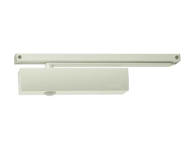 Zavírač dveří s kluznou lištou GEZE TS 5000 (bílý)