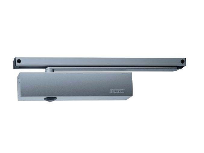 Zavírač dveří s kluznou lištou GEZE TS 5000 (stříbrný)
