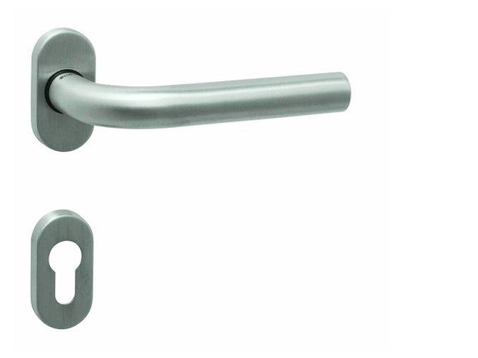 Tupai dveřní kování TI MONA R OVÁL 2071 (nerez)