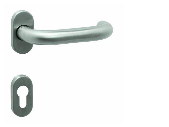 Tupai dveřní kování TI COSLAN R OVÁL 2070 (nerez)
