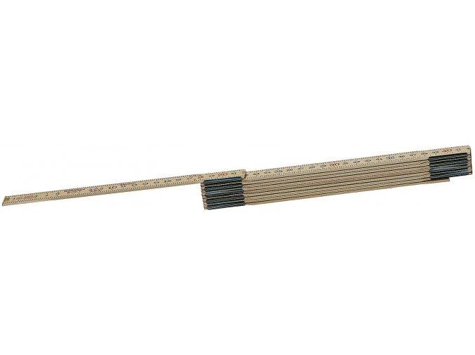 Hultafors SKLÁDACÍ METR DŘEVĚNÝ 2 m 59-2-10 (100004)